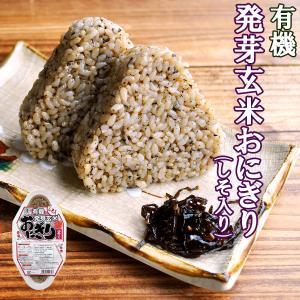 有機 発芽玄米 おにぎり(しそ)90g×2個 コジマフーズ ...