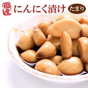 国産にんにく にんにく醤油漬物 100g 増量タイプ(たまり ニンニク)  おかずにんにく|asianlife