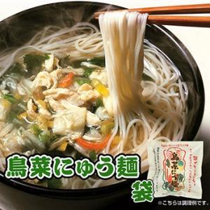 フリーズドライ 鳥菜にゅう麺 袋 66g×2袋(にゅうめん) 坂利製麺所|asianlife