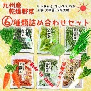 乾燥野菜 九州産 6種類詰め合わせセット 手軽で便利な乾燥野菜のお試しセット 長期保存可能 簡単調理 干し野菜 asianlife