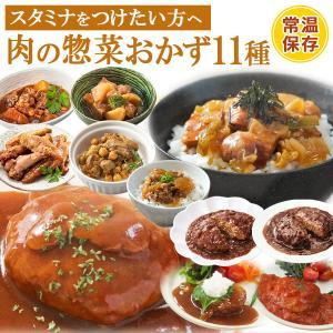 レトルト惣菜 肉のおかず詰め合わせ11種セット 洋食 丼 煮込み料理 常温保存 レンジ調理