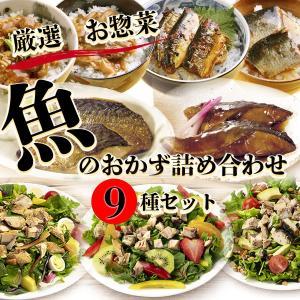 レトルト惣菜 厳選 魚のおかず詰め合わせ9種セット 洋食 サラダ 丼 常温保存 レンジ調理 asianlife
