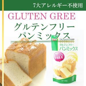 グルテンフリー パンミックス 300g (玄米粉 7大アレルギー不使用)|asianlife