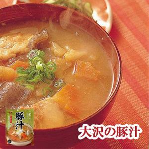 豚汁 とん汁 250g (1人前)  レトルト食品 惣菜 非常食・保存食|asianlife