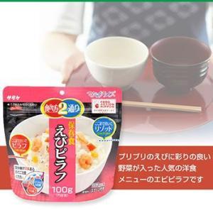サタケ マジックライス 備蓄用 えびピラフ 100g×2袋|asianlife