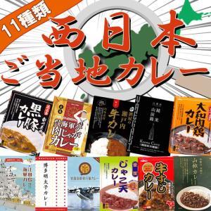 ご当地レトルトカレー 西日本シリーズ 11種類セット カレー好きの方必食! 西日本のご当地カレーを食...