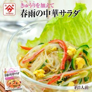 春雨の中華サラダ 82g 魚の屋 きゅうりを加えてヘルシーサラダ|asianlife