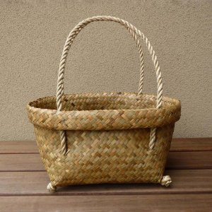 【NEW】タイの水草カゴバッグS|asianmable