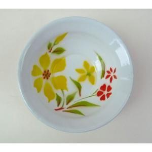 【NEW】タイのお花柄ホーロー器−お花黄色|asianmable