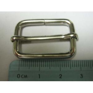 リュックカン シルバー 2.5cm(25mm)送りカン 移動カン|asianmarket