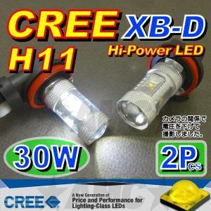 AMC H11 LEDフォグランプ CREE 30W 2個入 XB-D搭載で明るいLED球 AMC|asianmotors|03