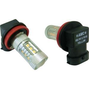 LED フォグランプ フォグライト H8 H11 H16 2個セット 80W 白 黄 選べる2色 ホワイト イエロー 汎用 AMC 【メール便(定形外),宅配便送料無料】uut yyc|asianmotors