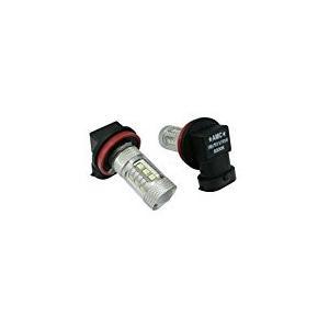 LED フォグランプ フォグライト H8 H11 H16 2個セット 80W 白 黄 選べる2色 ホワイト イエロー 汎用 AMC 【メール便は送料無料】uuc yyc|asianmotors|07