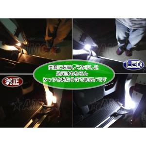 ステップワゴン RP RK RG LED 白 ドア カーテシランプ スパーダ LED ルームランプ スライドドア部分 RK1 RK5 AMC 【メール便(ゆうパケット)は送料無料】uup|asianmotors|02