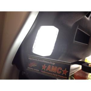 ステップワゴン RP RK RG LED 白 ドア カーテシランプ スパーダ LED ルームランプ スライドドア部分 RK1 RK5 AMC 【メール便(ゆうパケット)は送料無料】uup|asianmotors|05