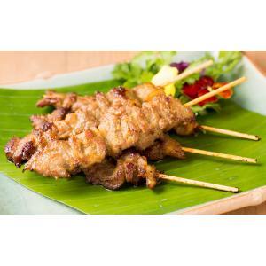 タイ風 豚の串焼き ムーピン (5本入) asianroad