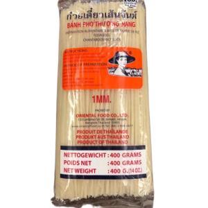 ライスヌードル 米麺 センレック(中細麺1mm) 400g入袋 asianroad