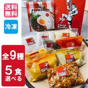 タイ料理 詰め合わせ 選べる 5食セット asianroad