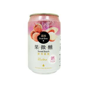 【商品名】台湾ビールフルーツシリーズ ライチ果微醺330ml(缶) 【原材料】麦芽、ホップ、米(台湾...