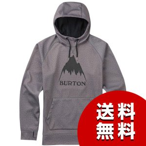 Burton バートン パーカー SS17 CROWN BONDED PULLOVER/MONUMENT HEATHER|asiantyphooon