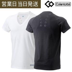 コラントッテ レスノ マグケアシャツ Vネック Tシャツ colantotte 父の日 プレゼント