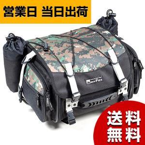 タナックス シートバッグ TANAX バイク ミニフィールドシートバッグ デジカモ 19~27L MFK-100C モトフィズ MOTOFIZZ|asiantyphooon