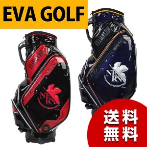 エヴァンゲリオン ゴルフ キャディバッグ EVA GOLF エヴァゴルフ|asiantyphooon