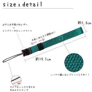 カメラストラップ リストストラップ ハンドストラップ コットン編み込み ミラーレス一眼レフ デジタルカメラ用|asianzakka|03