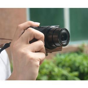 レザーカメラケース Sony RX100シリーズ専用 レザーケース M M2 M3 M4 M5 M6 用 レザージャケット お揃いカラーのストラップ付き asianzakka 11