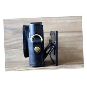 レザーカメラケース Sony RX100シリーズ専用 レザーケース M M2 M3 M4 M5 M6 用 レザージャケット お揃いカラーのストラップ付き asianzakka 08