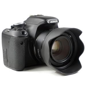 Canon レンズフード ES-68 II 互換品 一眼レフ用交換レンズ EF50mm F1.8 STM 用 asianzakka 07