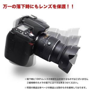 Canon レンズフード EW-60F 互換品 ミラーレス一眼レフ用交換レンズ  EF-M18-150mm F3.5-6.3 IS STM用 asianzakka 08