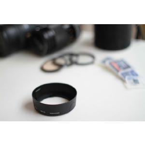 ☆レンズフード Nikon AF-S DX NIKKOR 18-55mm f3.5-5.6G VR<br> AF-S DX Zoom-Nikkor 18-55mm f3.5-5.6G ED II用 HB-45 互換品☆|asianzakka