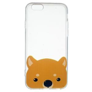 【iPhone6s Plus / iPhone6 Plus ケース】★わんこ★ソフトTPUクリアケース☆ソフトケース ソフトタイプ☆柴犬 asianzakka