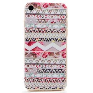 iPhone8 plusケース iPhone7 plusケース 民族パターンA TPUソフトクリアケース ソフトケース ソフトタイプ iPhoneケース|asianzakka