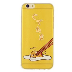 iPhone8 plusケース iPhone7 plusケース グデタマ B 可愛いシリコンソフトクリアケース ソフトクリアケース ソフトケース ソフトタイプ iPhoneケース|asianzakka