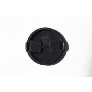 レンズキャップ 58mm 各メーカー共用タイプ Canon Nikon Sony Olympus Panasonic Pentaxなど 一眼レフミラーレス一眼レフ 交換レンズ用保護キャップ|asianzakka|02