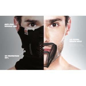 NAROO MASK(ナルーマスク) T-BONE 5 立体構造スポーツマスク フェイスマスク 防寒 花粉症対策 PM2.5対策 (ブラック)|asiapacifictrading