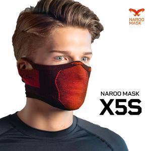X5は首までの長さがありますが、X5sは顎までの長さのマスクです。暖かくなってきた春先から活躍します...