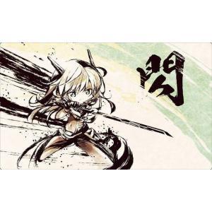 Cake Rabbits カードゲームプレイマット ☆『墨絵 レイ/illust:itota』★ 【...