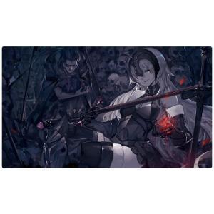 フロンティアゲーム カードゲームプレイマット ☆『ジャンヌオルタ/illust:saberiii』★ 【サンクリ2017 summer】|asimani