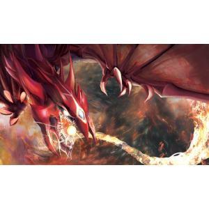 混沌の女神様 カードゲームプレイマット ☆『神炎皇ウリア/Illust:デュレイド』★ 【GOOD ...