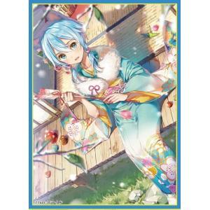 ミッドナイトブルー カードスリーブ ☆『着物シノン/illust:DSマイル』★ 【コミックマーケット93/C93】|asimani