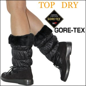 TOP DRY(トップドライ)婦人靴(レディース) 防寒・防水ブーツTDY3851ゴアテックス搭載