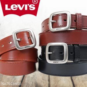 ベルト メンズ 本革 カジュアル メンズベルト ブランド Levis リーバイス ビジネス|askashop