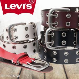 ベルト メンズ 白 本革 カジュアル メンズベルト ブランド Levis リーバイス レザー|askashop
