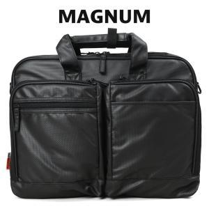 ビジネスバッグ メンズ A4 B4 ブリーフケース ブランド 斜めがけ 2Way MAGNUM マグナム ノートPC対応 撥水|askashop