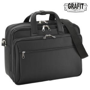 ビジネスバッグ メンズ A4  GRAFIT グラフィット 3way B4 ノートPC対応 キャリーオン ショルダーバッグ|askashop