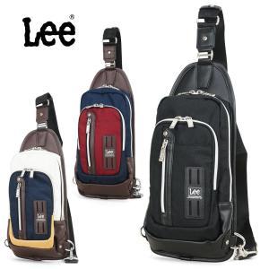 ボディバッグ メンズ  Lee リー sonic ソニック ワンショルダー A4未満 縦型   鞄 かばん カバン bag 320-3651 men's  斜めがけ|askashop