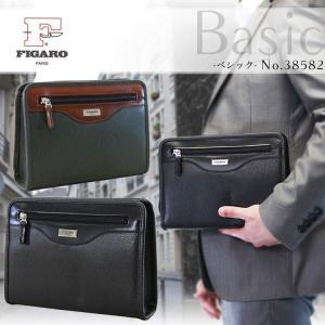 セカンドバッグ メンズ 軽量 日本製 FIGARO(フィガロ)Basic(ベシック) クラッチバッグ|askashop